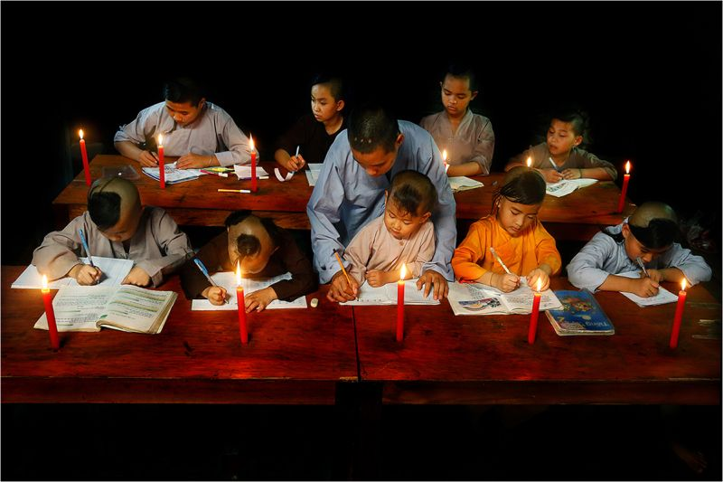 Night Class For Orphans by Te Le